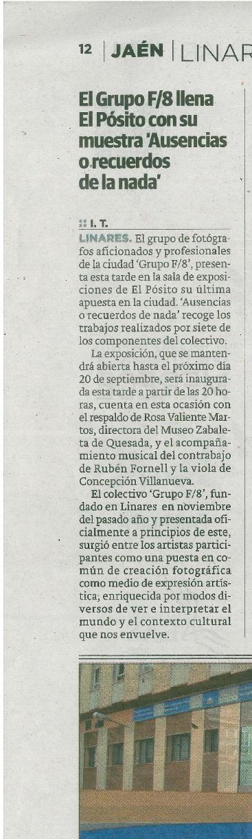 "Diario Ideal - ""Ausencias"""