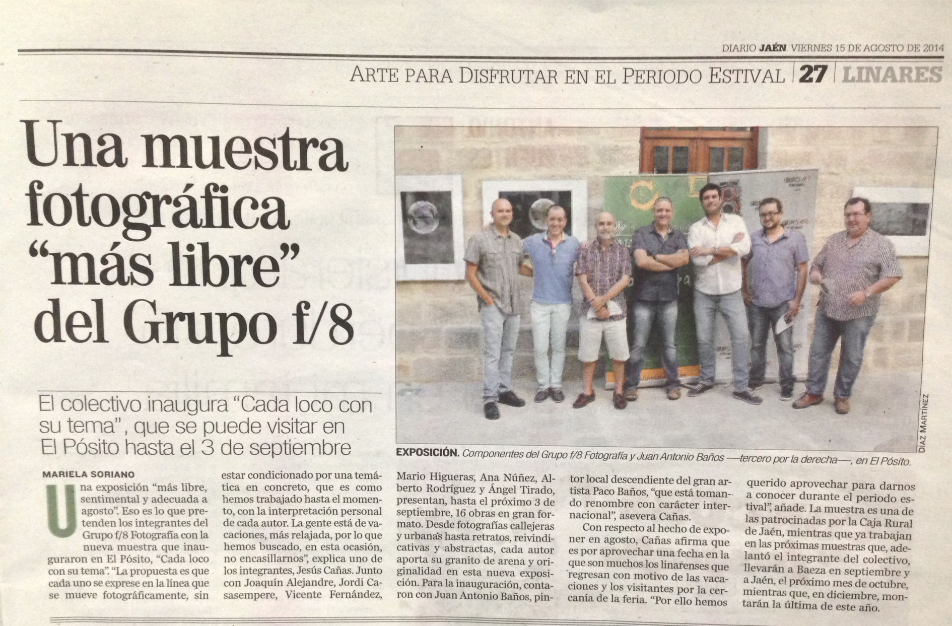 """Diario Jaén - """"Cada loco con su tema"""""""