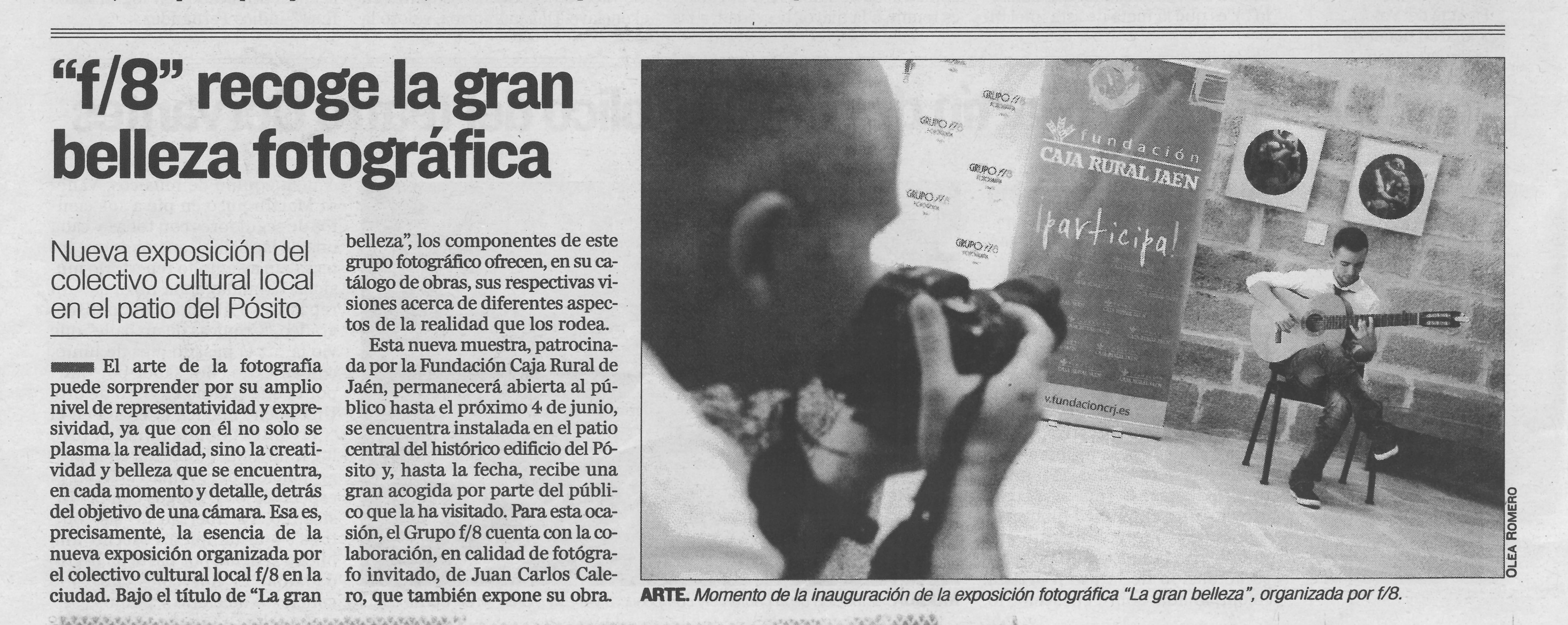 """Diario Jaén - """"La gran belleza"""""""