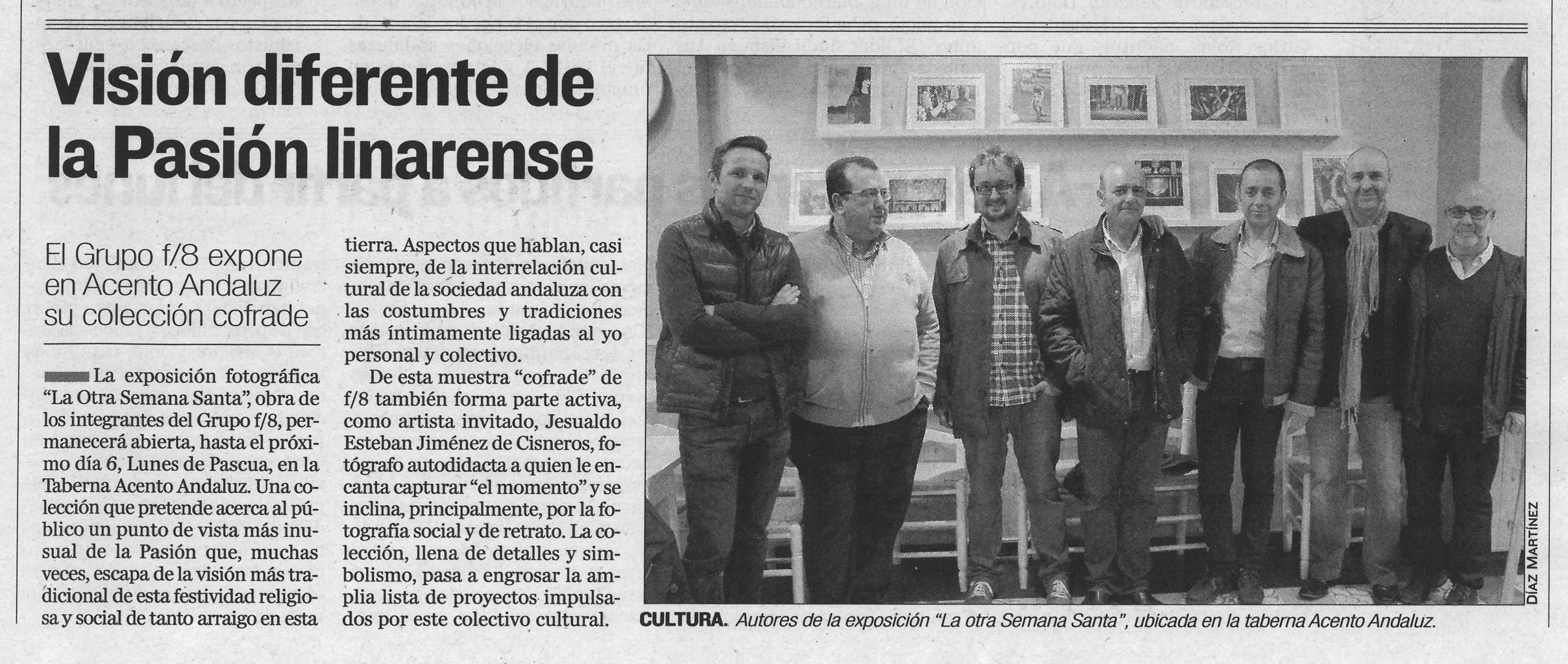 "Diario Jaén - ""La otra Semana Santa"""