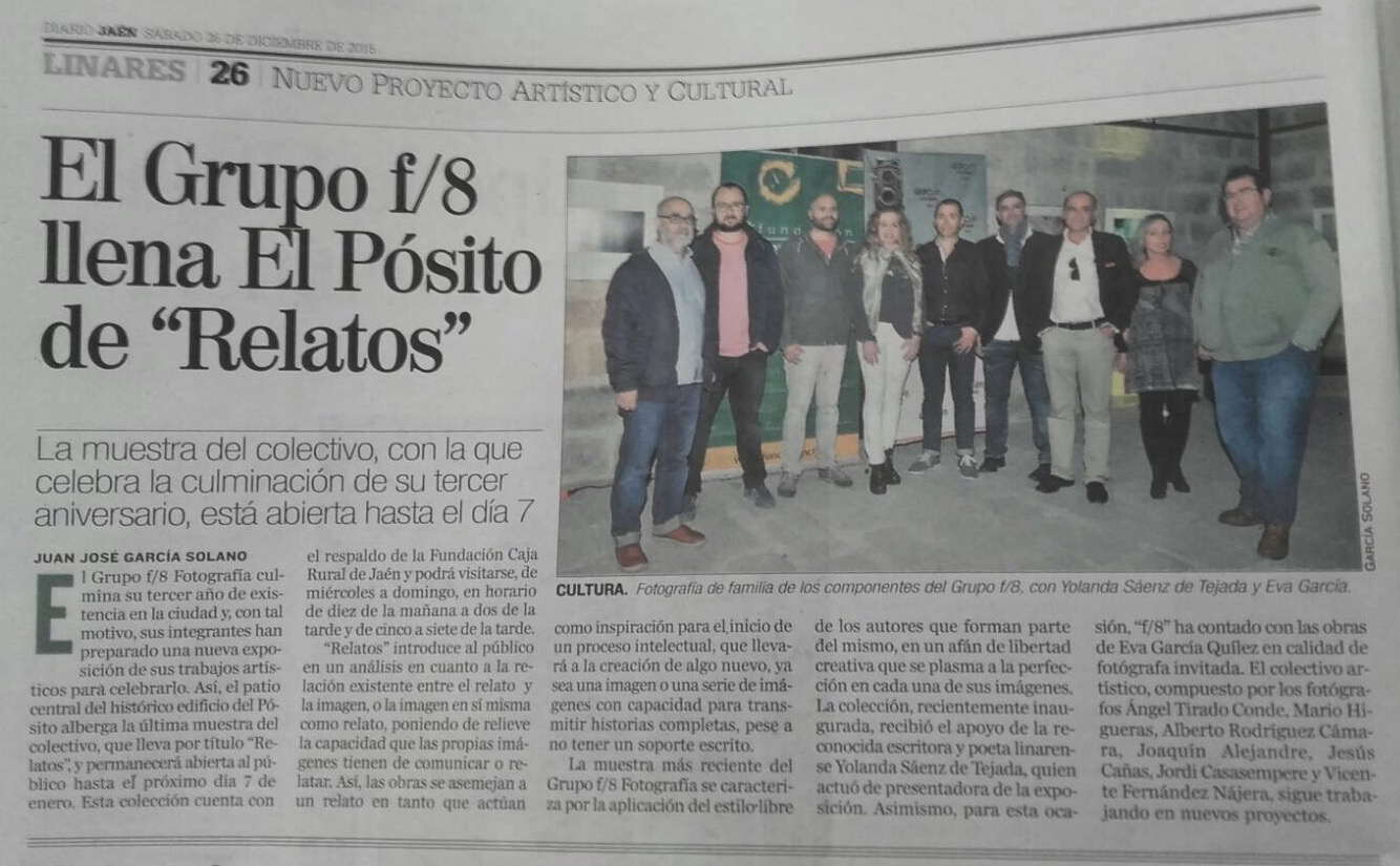 """Diario Jaén - """"Relatos"""""""