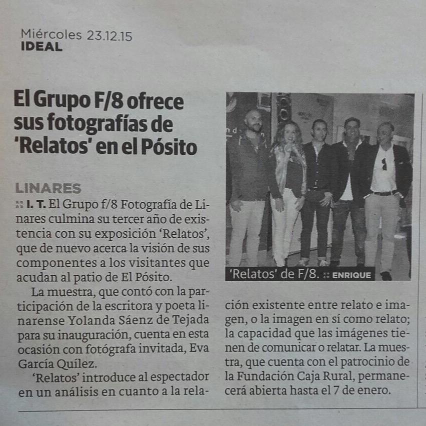 """Diario Ideal - """"Relatos"""""""