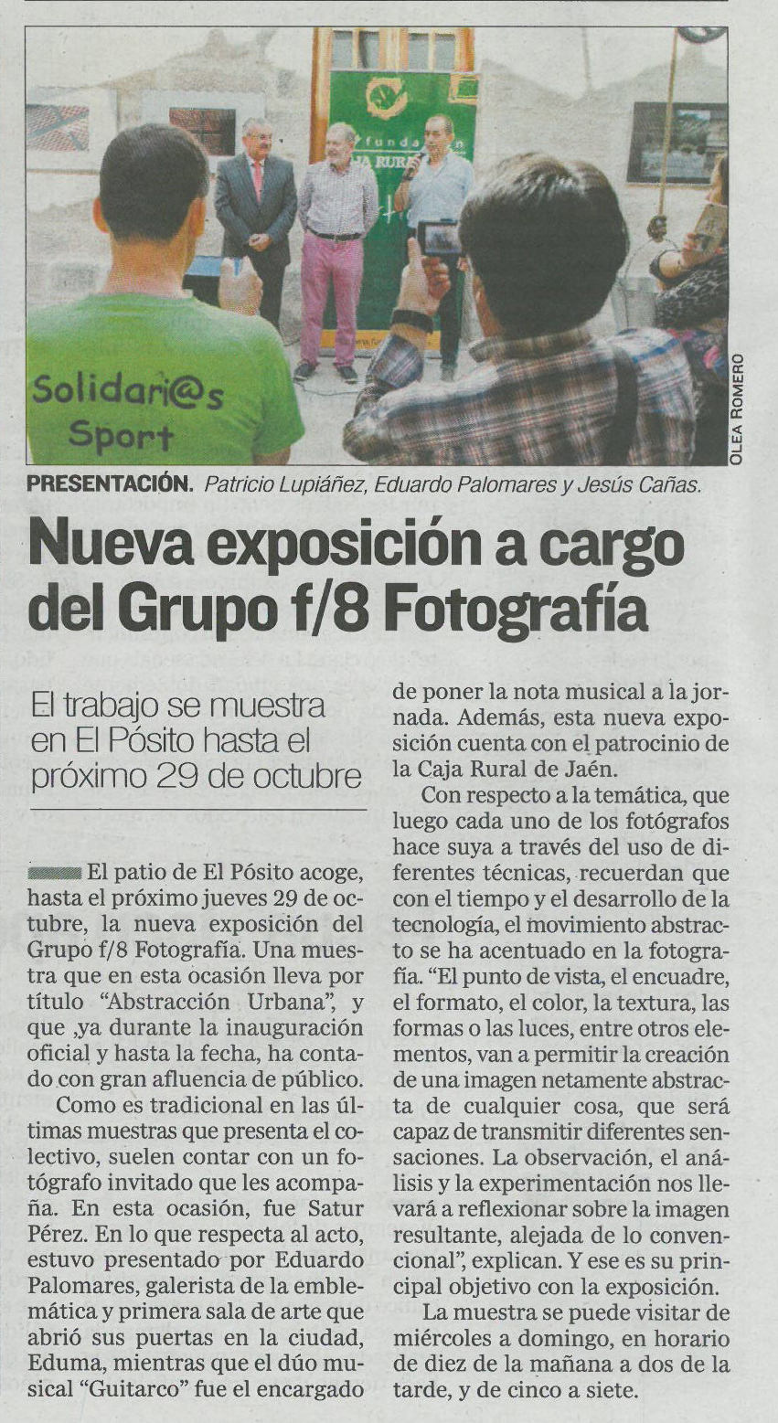 """Diario Jaén - """"Abstracción urbana"""""""