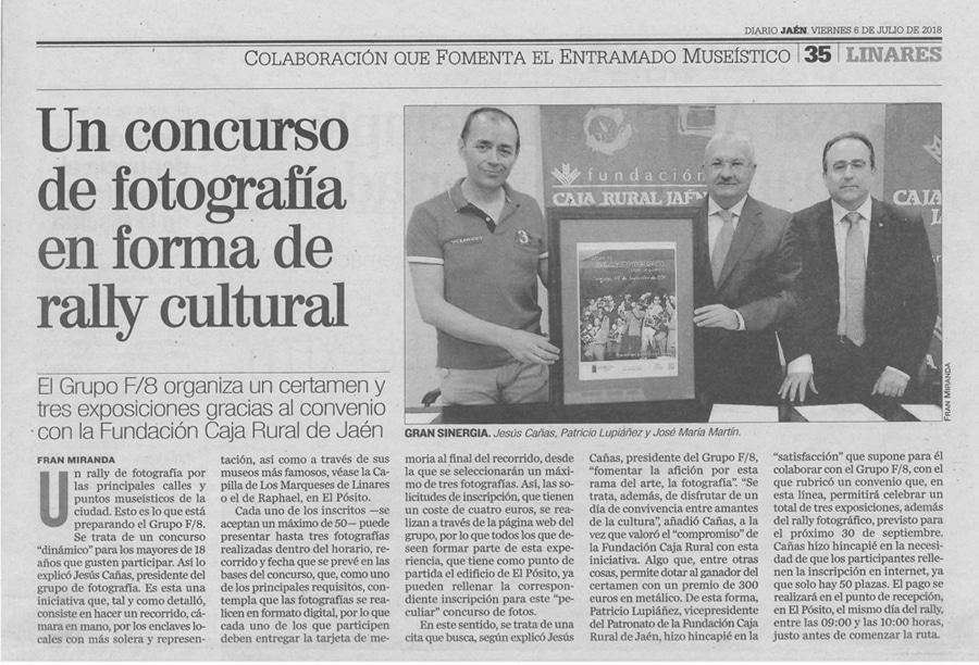 """Rally Fotográfico """"Ciudad de Linares"""""""